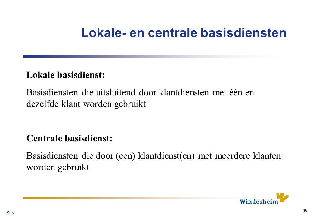Lokale- en centrale basisdiensten
