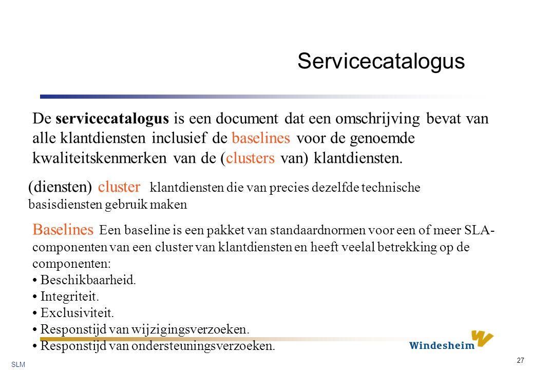Servicecatalogus