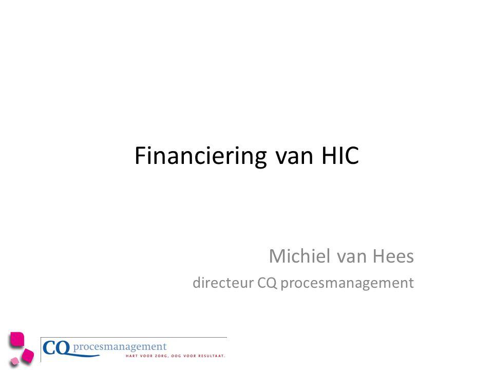 Michiel van Hees directeur CQ procesmanagement