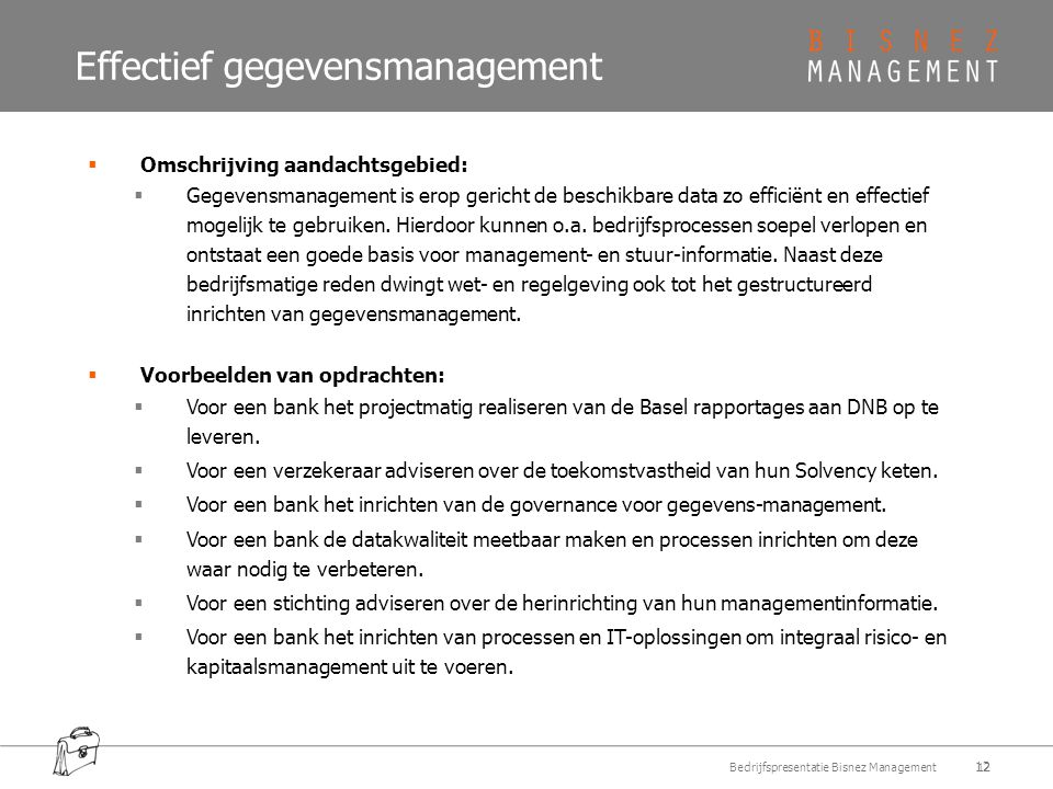 Effectief gegevensmanagement
