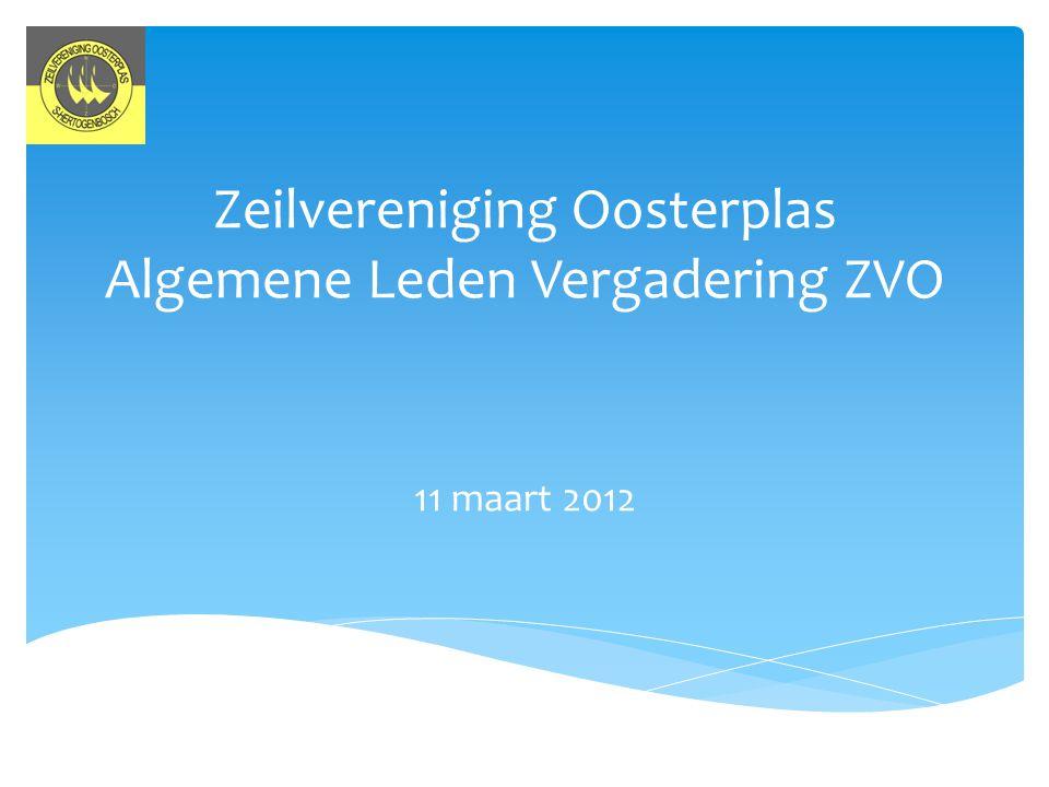 Zeilvereniging Oosterplas Algemene Leden Vergadering ZVO