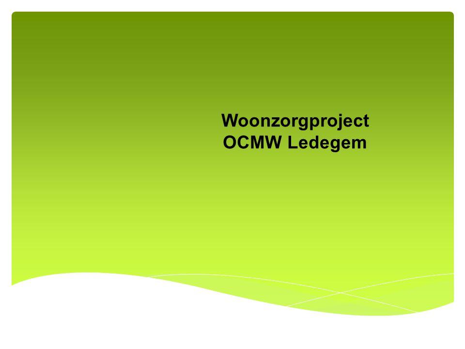 Woonzorgproject OCMW Ledegem
