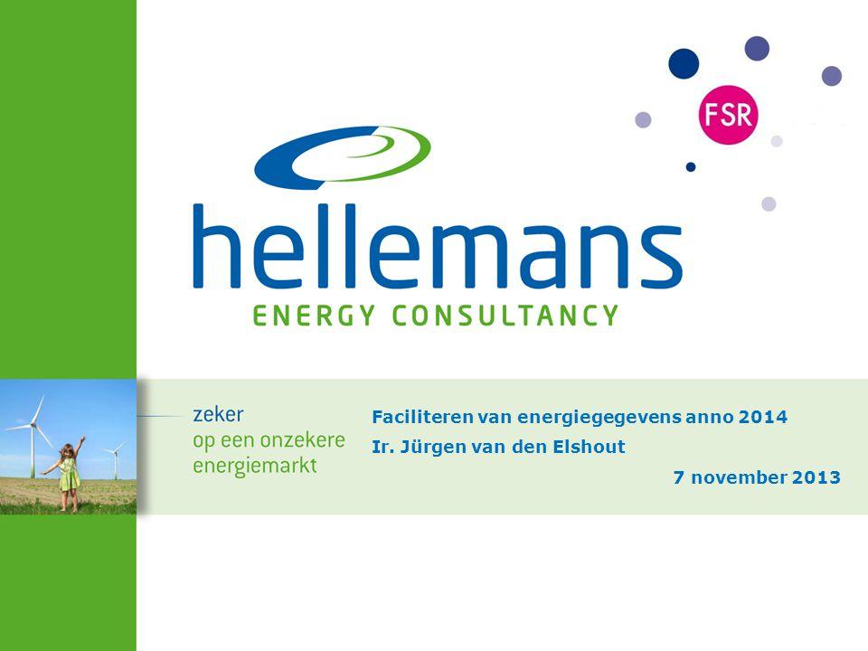 Faciliteren van energiegegevens anno 2014
