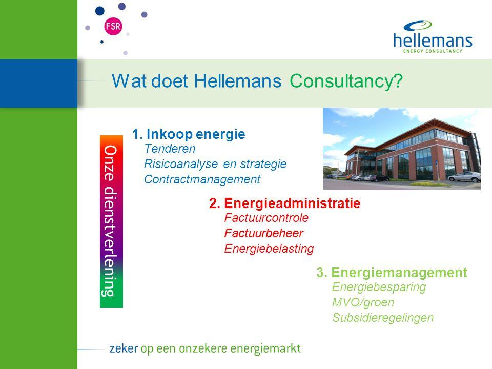 Wat doet Hellemans Consultancy