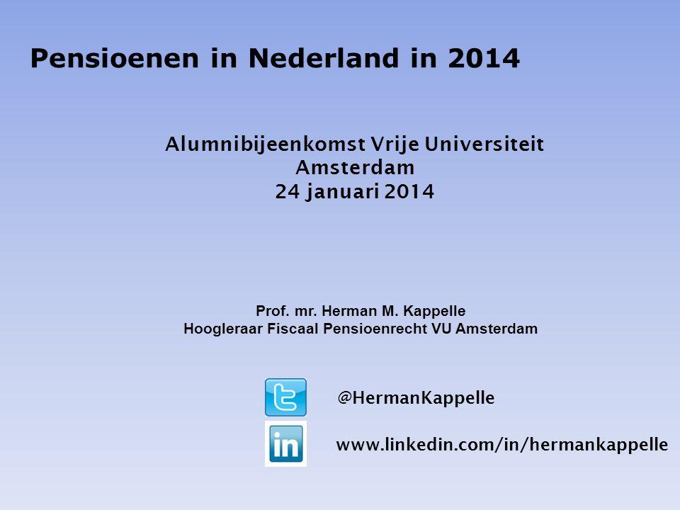 Pensioenen in Nederland in 2014