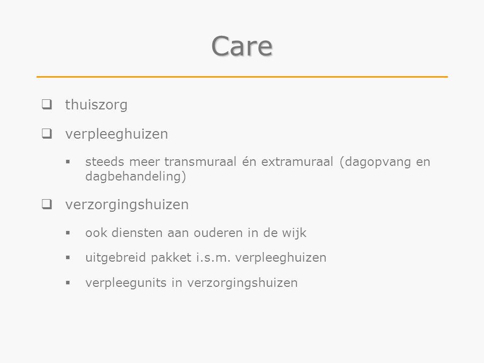 Care thuiszorg verpleeghuizen verzorgingshuizen