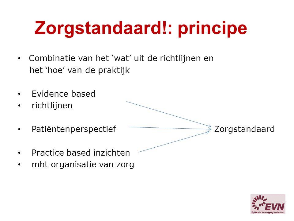 Zorgstandaard!: principe