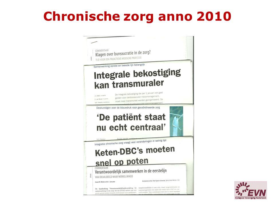 Chronische zorg anno 2010