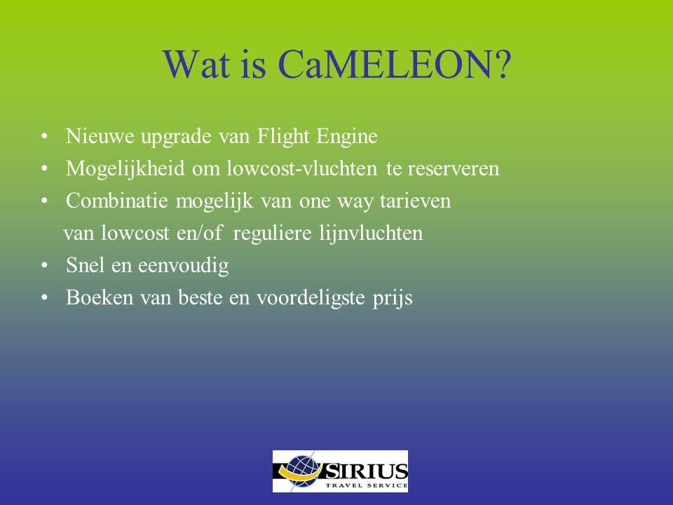 Wat is CaMELEON Nieuwe upgrade van Flight Engine