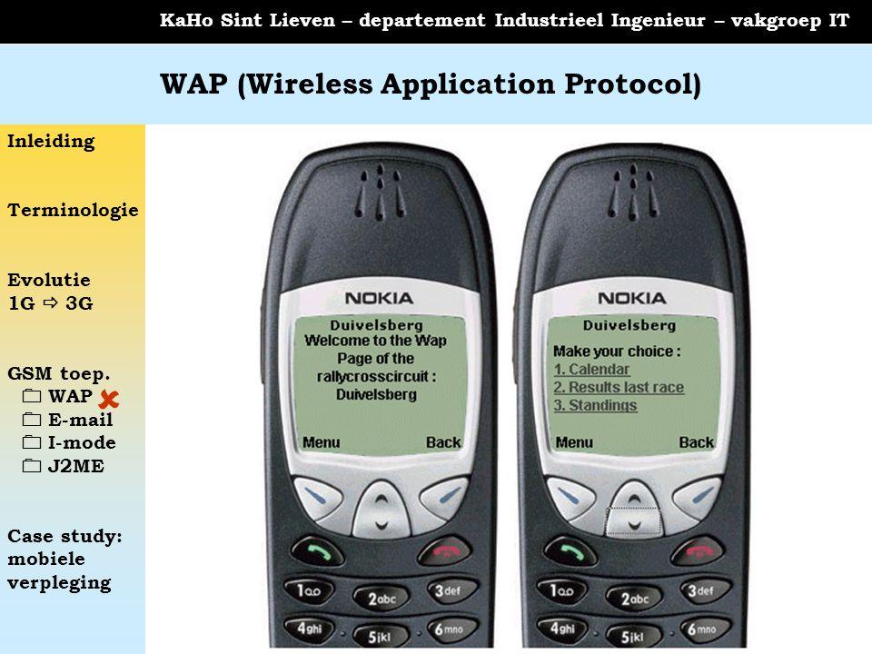 WAP (Wireless Application Protocol)