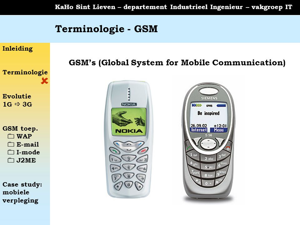GSM's (Global System for Mobile Communication)