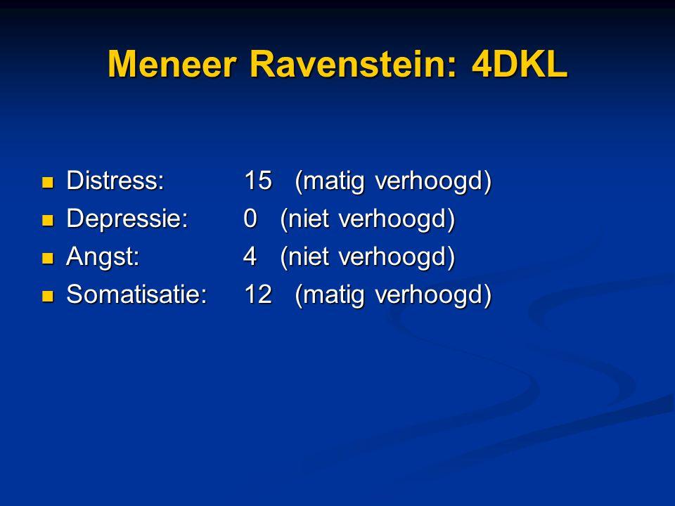 Meneer Ravenstein: 4DKL