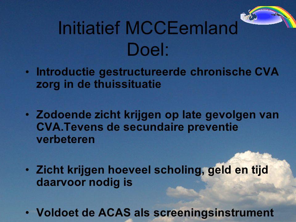 Initiatief MCCEemland Doel: