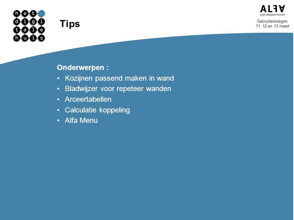 Tips Onderwerpen : Kozijnen passend maken in wand