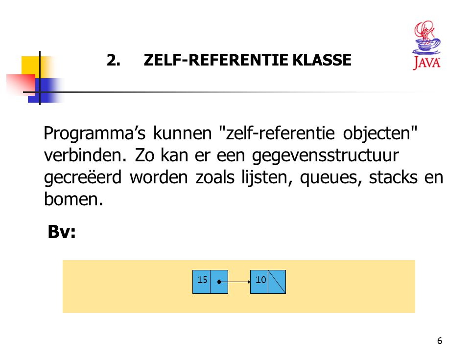 2. ZELF-REFERENTIE KLASSE
