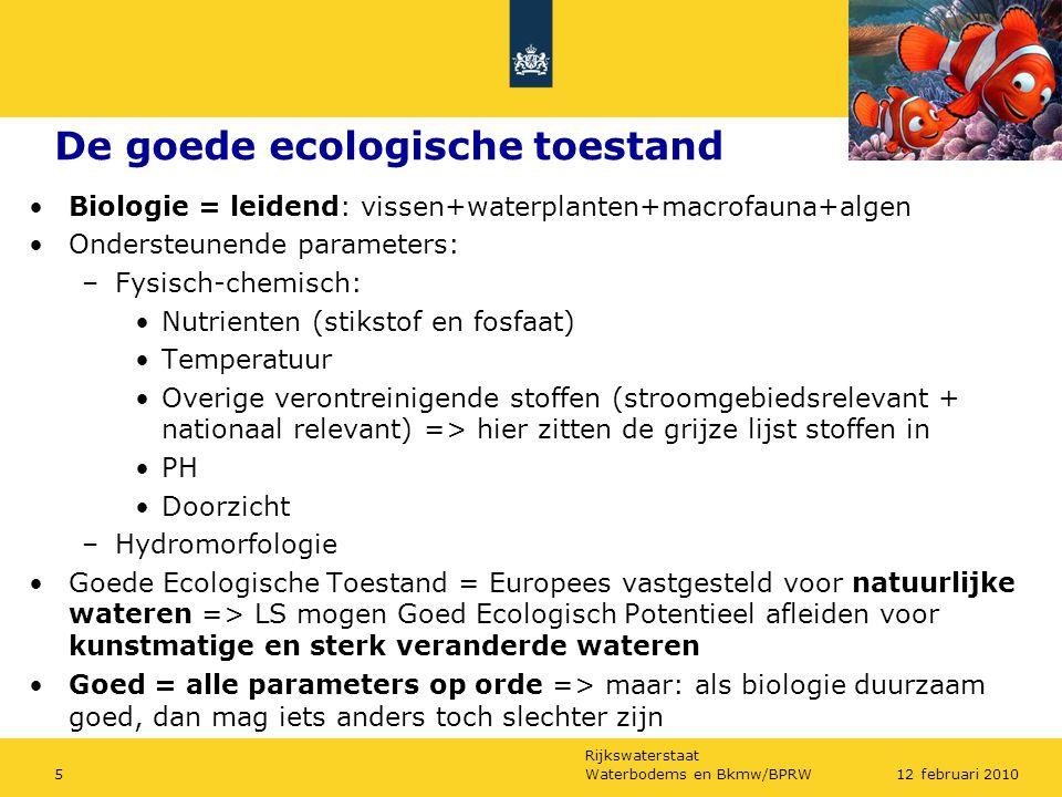 De goede ecologische toestand