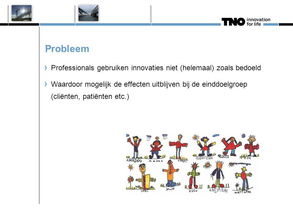 Uitgangspunten Innovaties: programma's, richtlijnen, technologieën