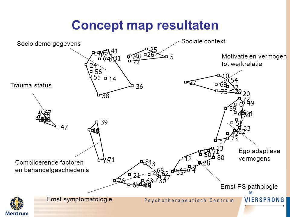 Concept map resultaten