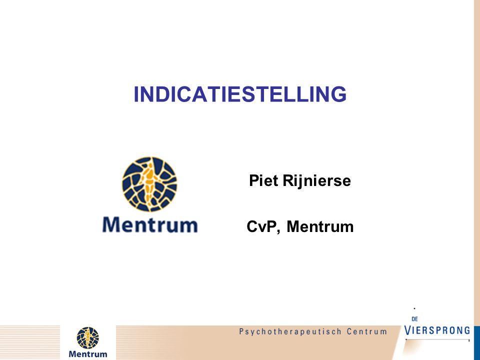 Piet Rijnierse CvP, Mentrum