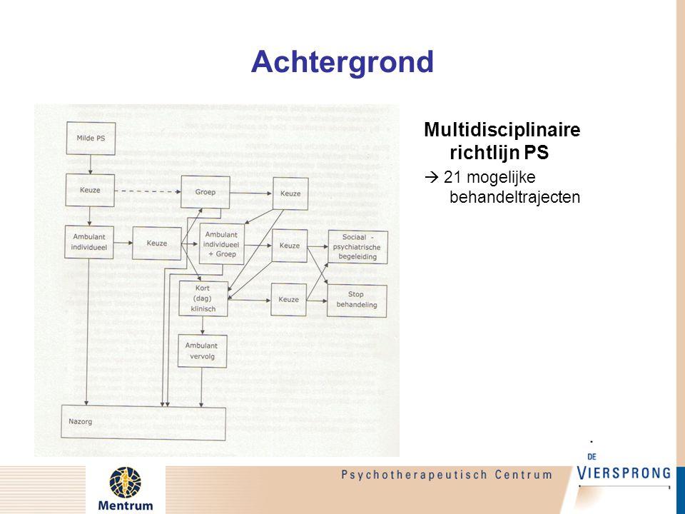 Achtergrond Multidisciplinaire richtlijn PS