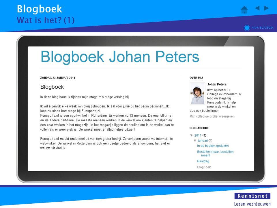 Blogboek Wat is het (1) NAAR BLOGBOEK
