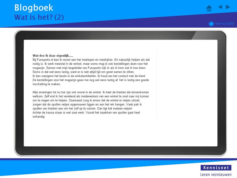 Blogboek Wat is het (2) NAAR BLOGBOEK