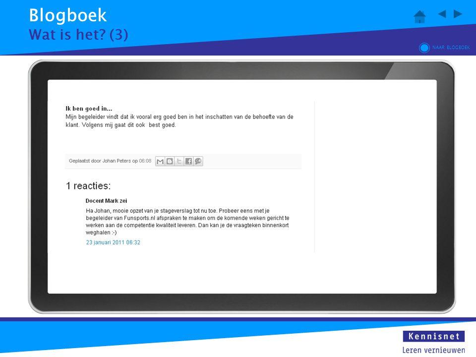 Blogboek Wat is het (3) NAAR BLOGBOEK
