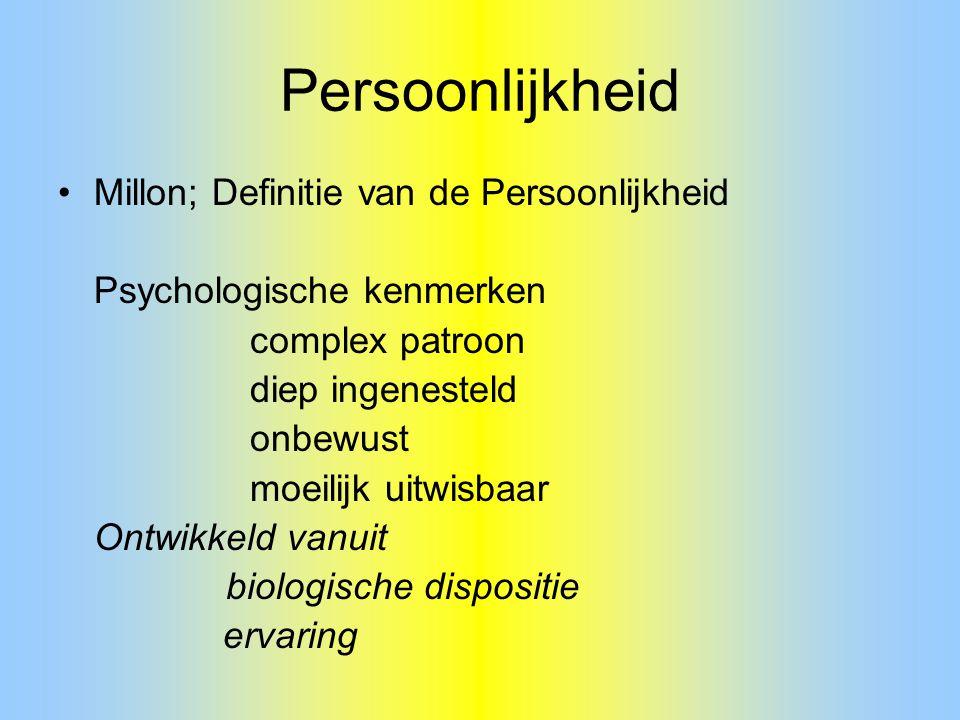 Persoonlijkheid Millon; Definitie van de Persoonlijkheid