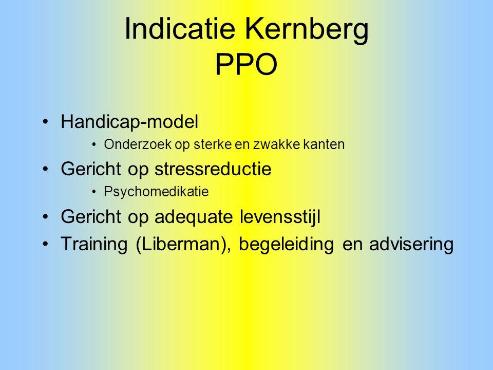Indicatie Kernberg PPO