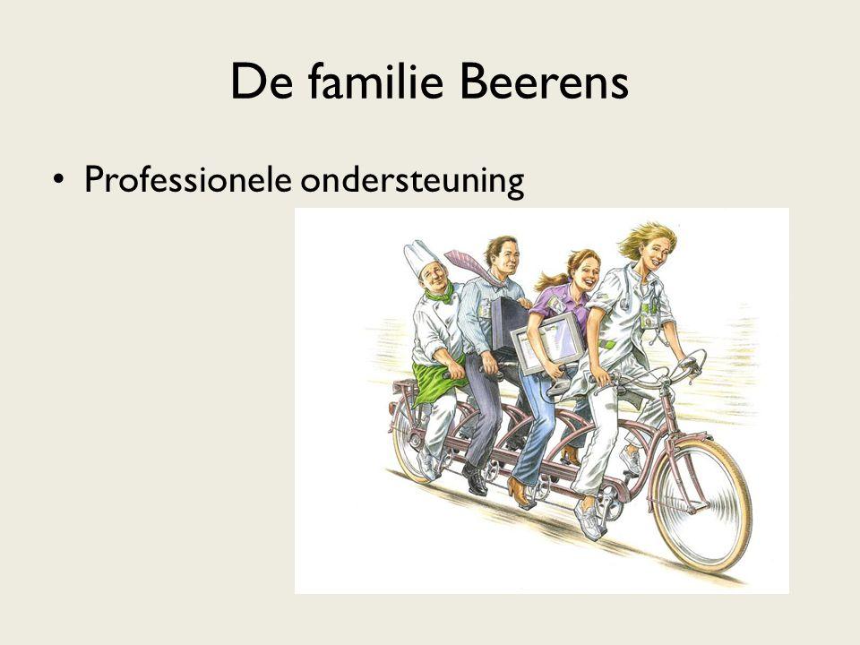 De familie Beerens Professionele ondersteuning