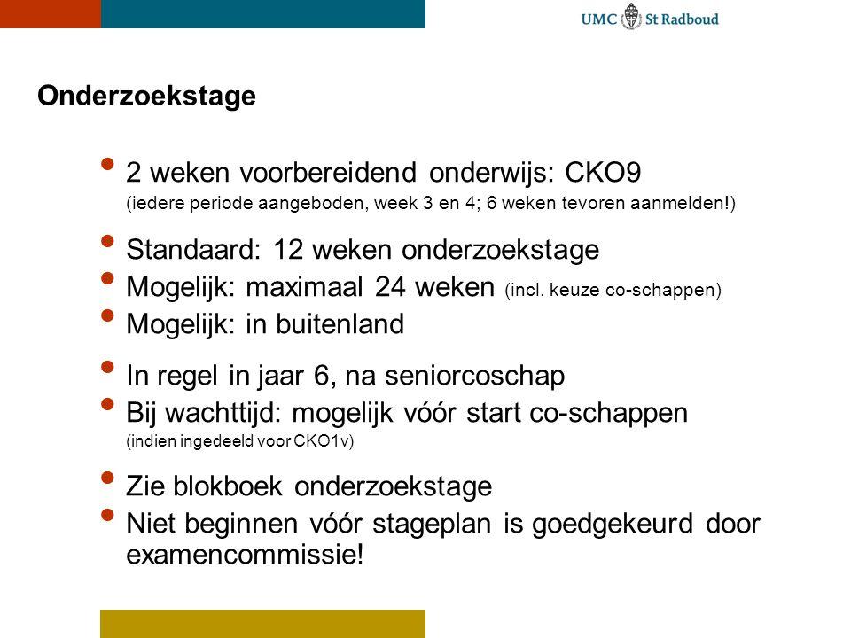 2 weken voorbereidend onderwijs: CKO9