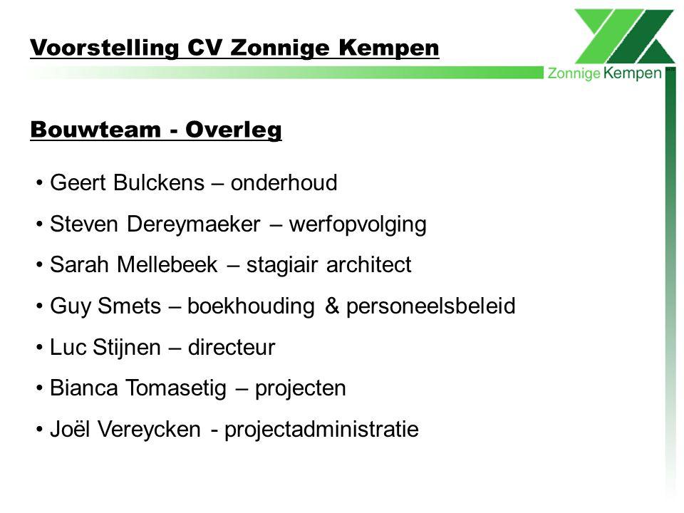 Voorstelling CV Zonnige Kempen
