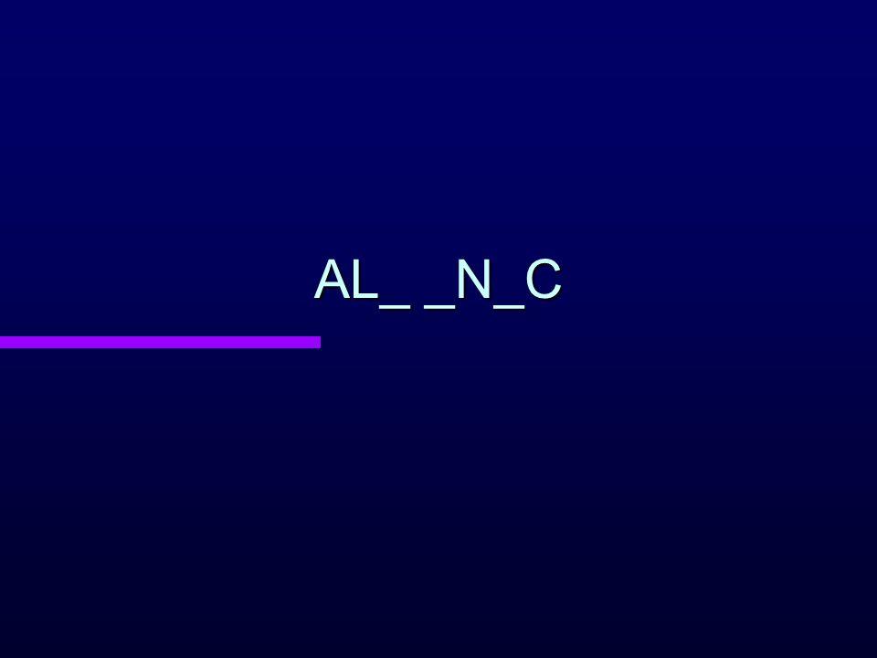 AL_ _N_C