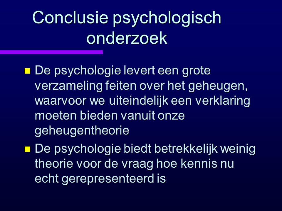 Conclusie psychologisch onderzoek