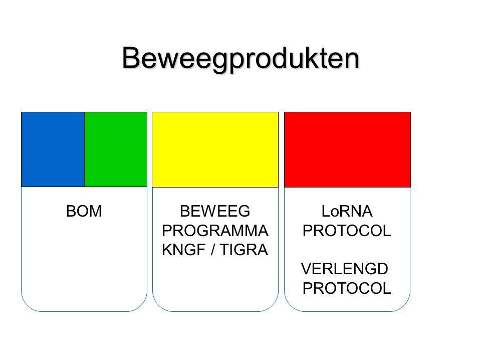 Beweegprodukten BOM BEWEEG PROGRAMMA KNGF / TIGRA LoRNA PROTOCOL