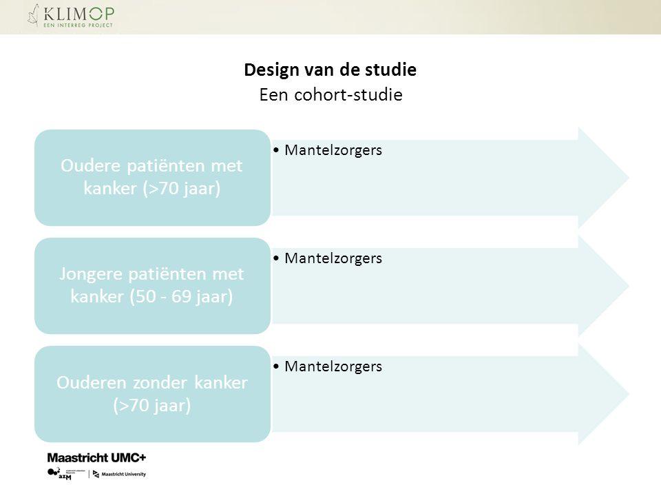 Design van de studie Een cohort-studie