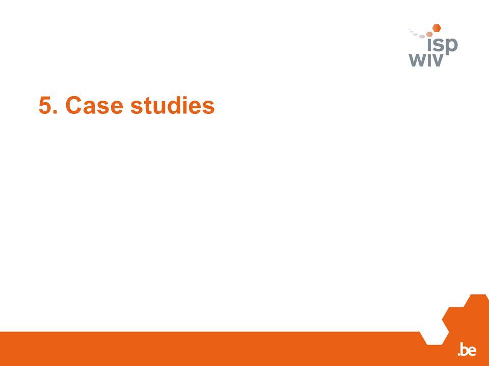 5. Case studies 20