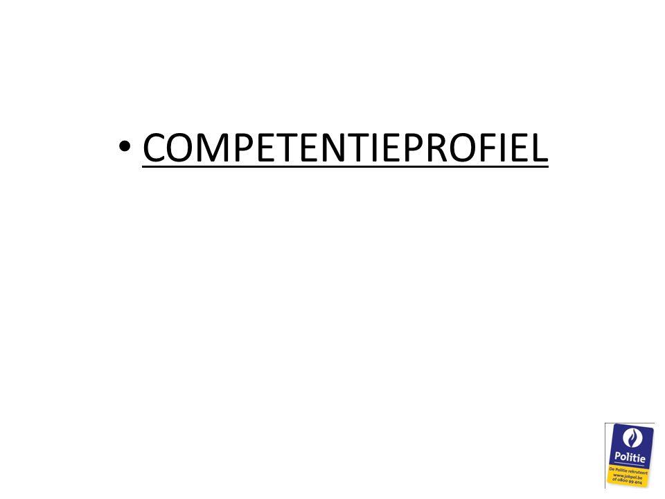 COMPETENTIEPROFIEL