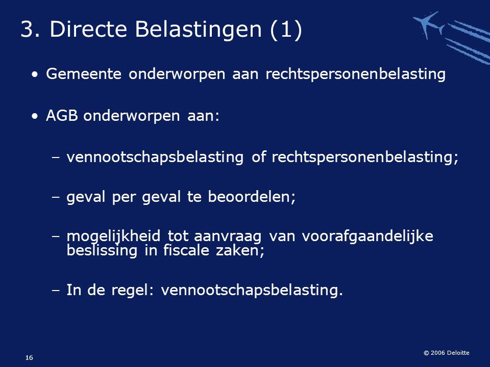 3. Directe Belastingen (1)