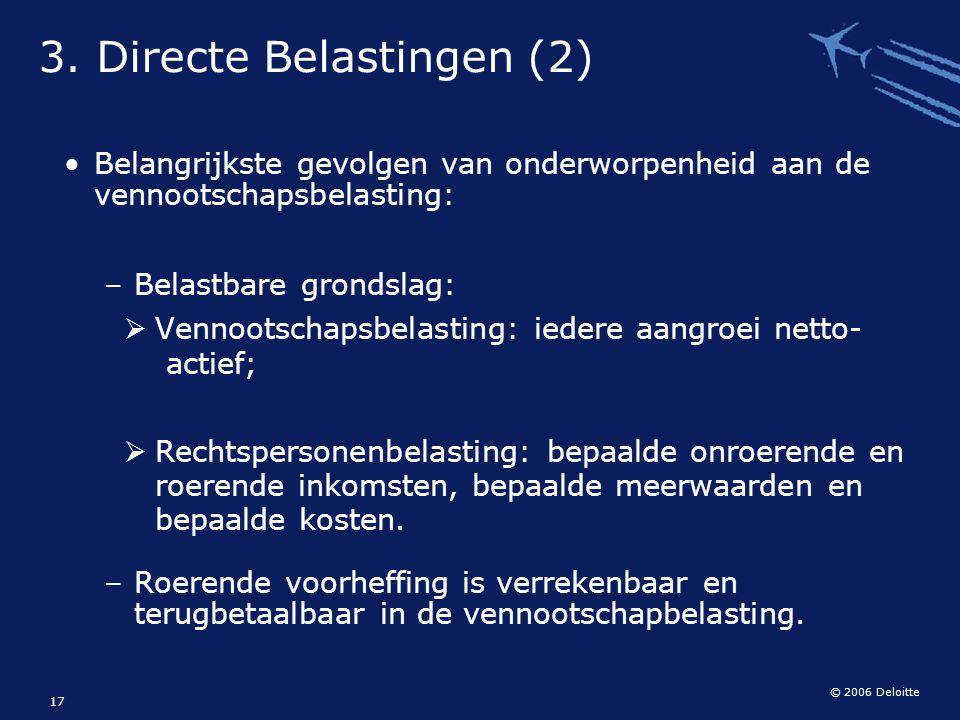3. Directe Belastingen (2)