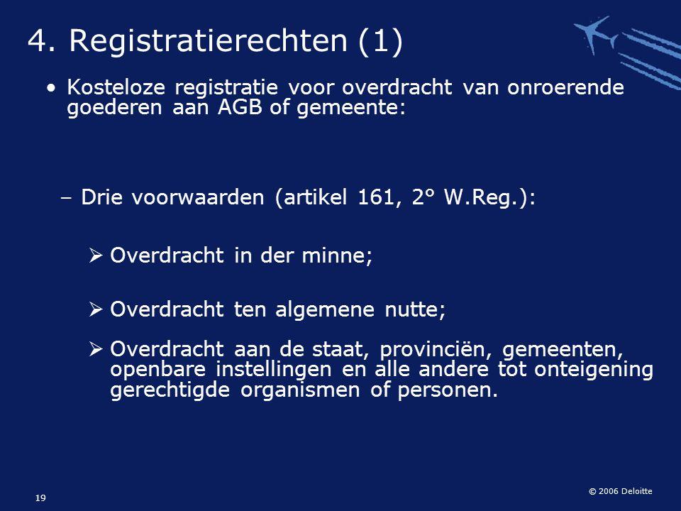 4. Registratierechten (1)