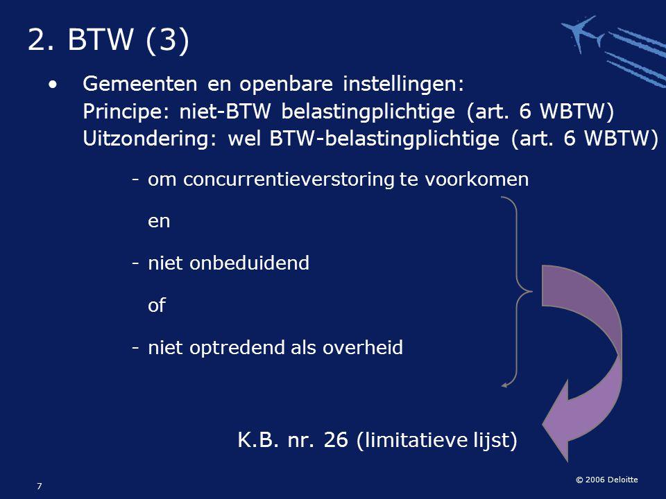 K.B. nr. 26 (limitatieve lijst)