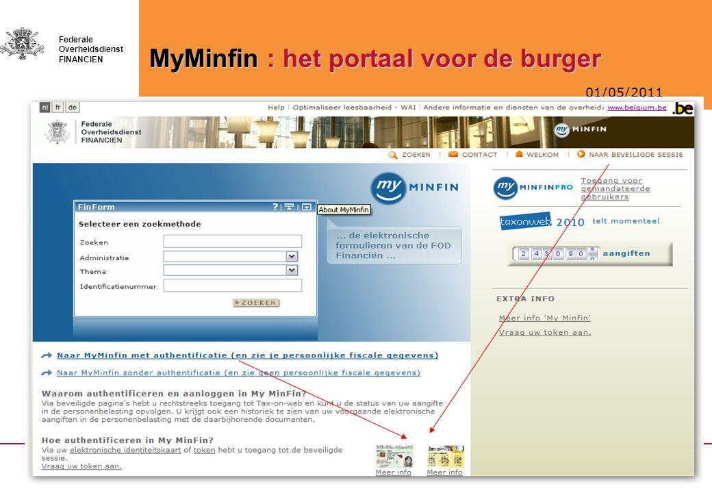 MyMinfin : het portaal voor de burger