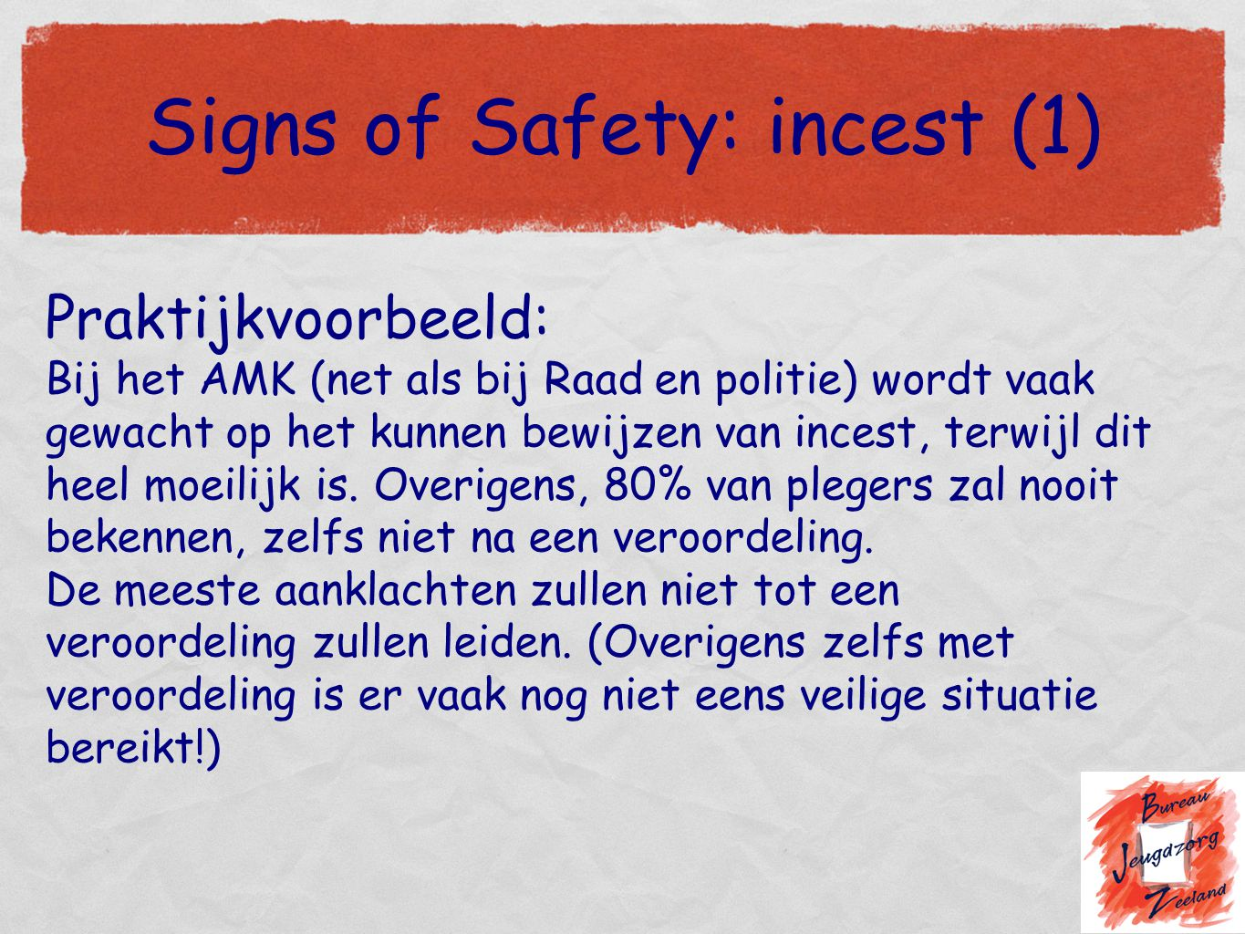 Signs of Safety: incest (1)