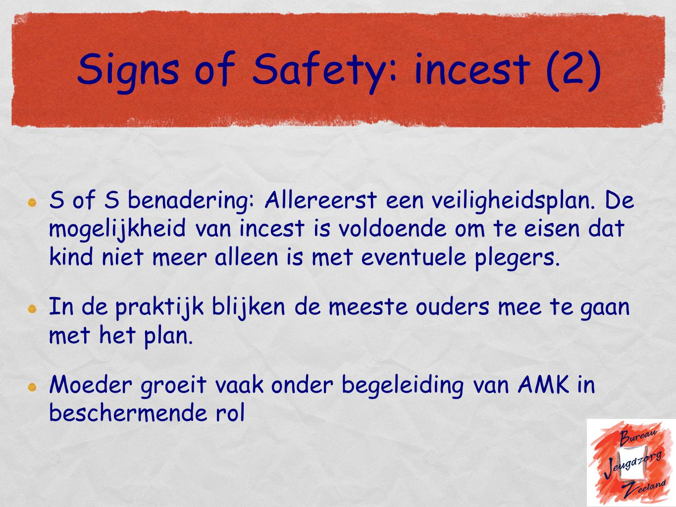 Signs of Safety: incest (2)