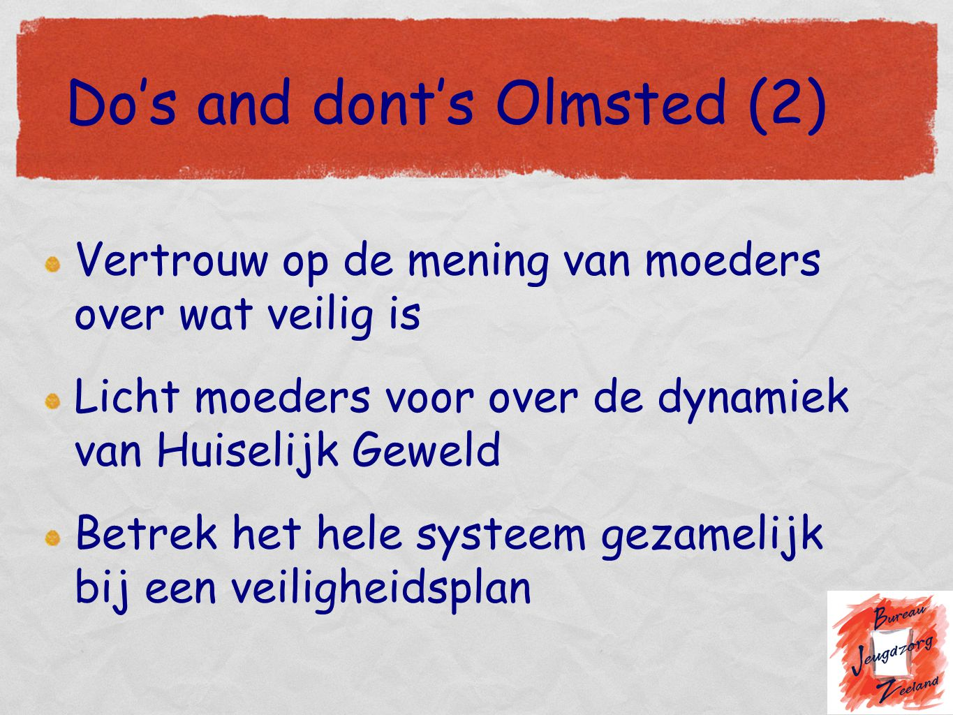 Do's and dont's Olmsted (2)