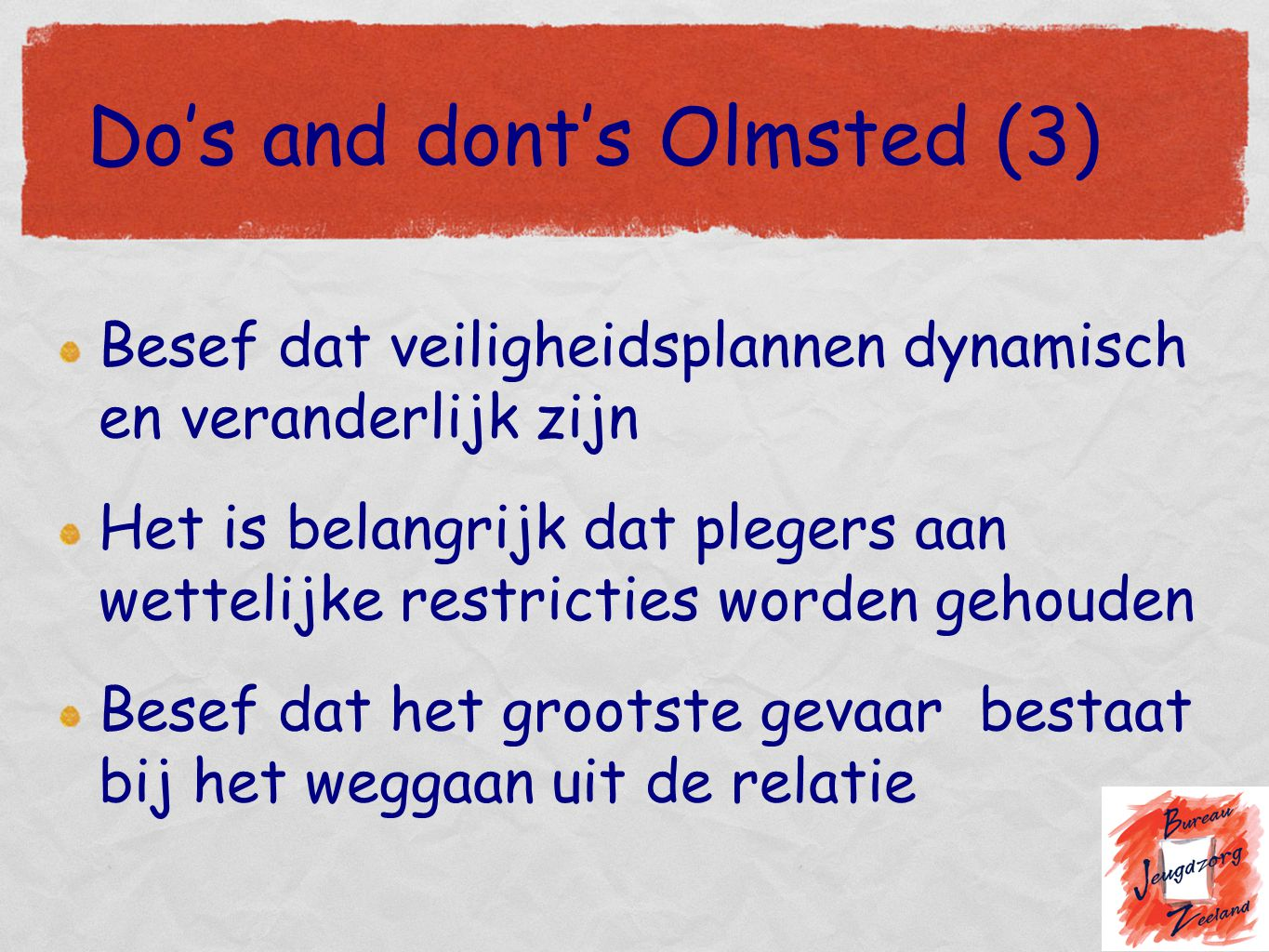 Do's and dont's Olmsted (3)
