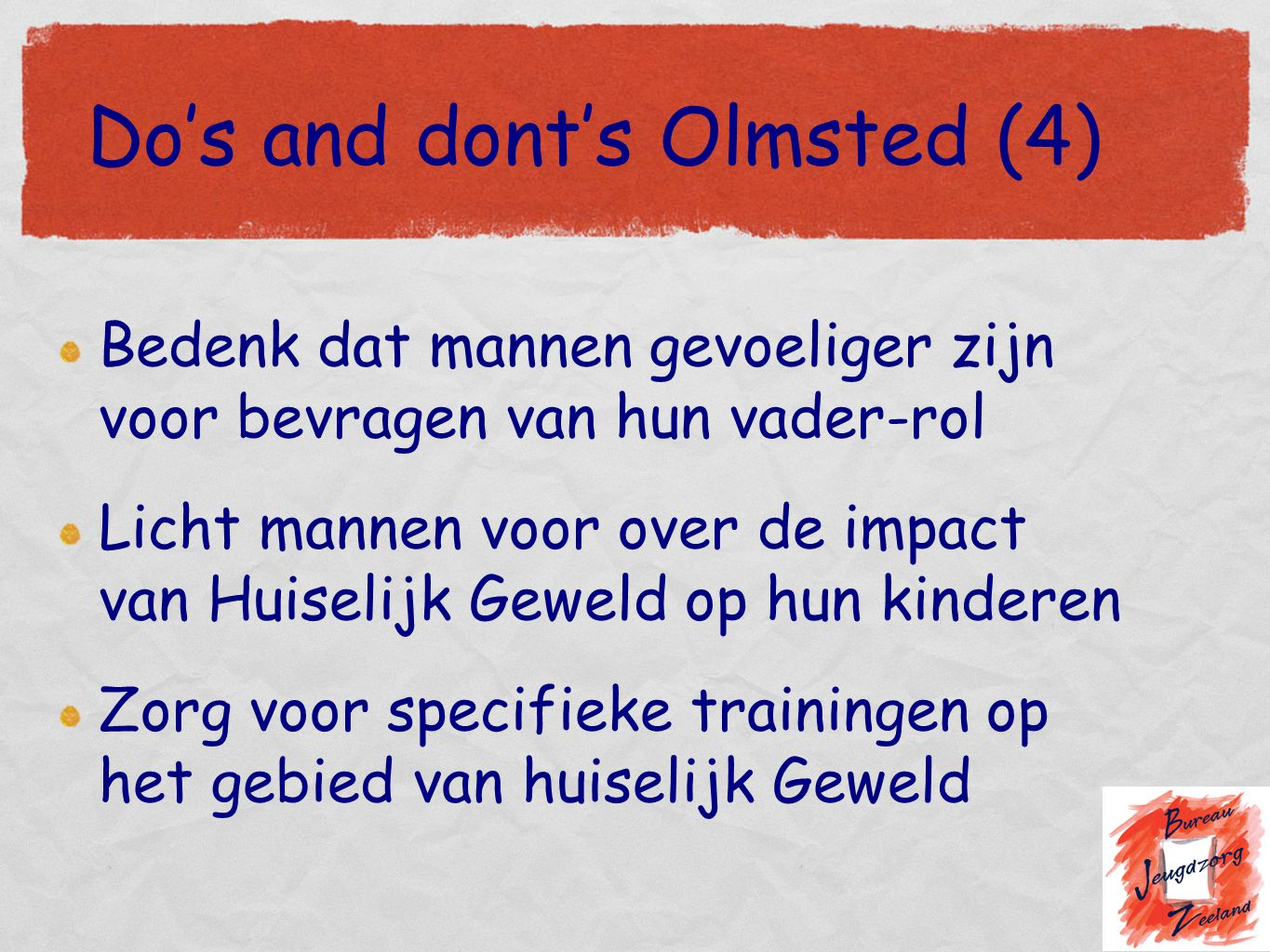 Do's and dont's Olmsted (4)
