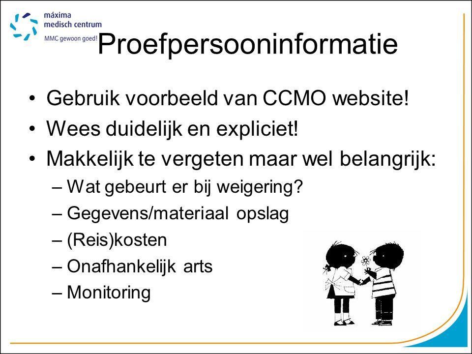 Proefpersooninformatie