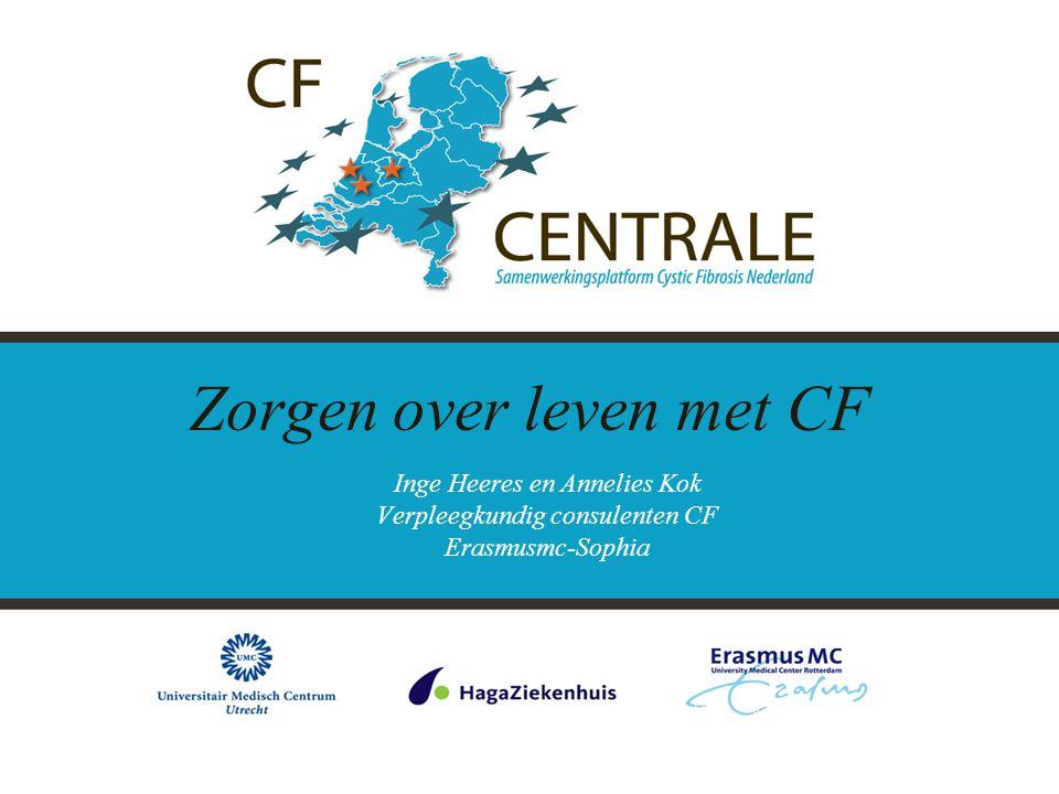 Zorgen over leven met CF